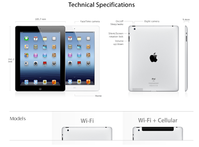 Apple changes iPad 'WiFi+4G' branding to 'WiFi+Cellular'