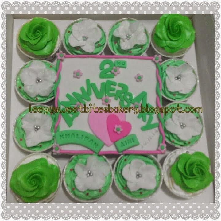 Buttercream Fondant Cupcakes
