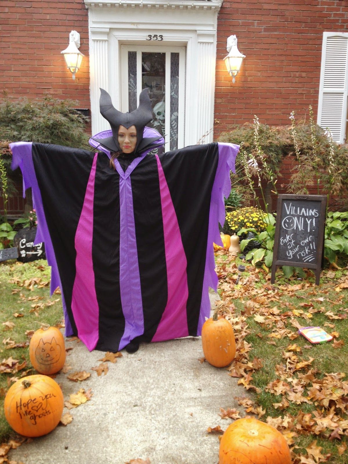 Maleficent Kids Costume