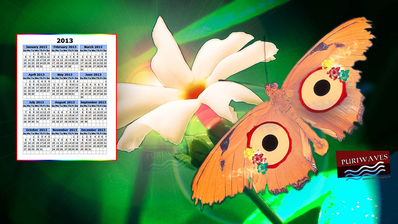 Jay Jay Shri Jagannath Wallpaper Calendar 2013 HD