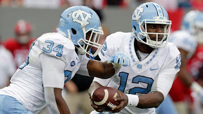 NCAAF : No. 10 North Carolina vs. No. 1 Clemson