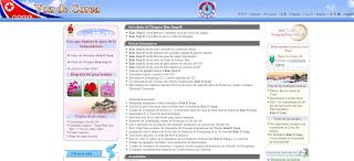 """sitio web """"La Voz de Corea"""""""