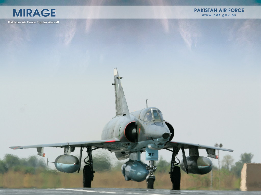 Pakistan Air Force Mirage-3 Aircraft Wallpaper