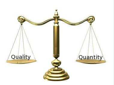 qulitative vs quantitative Quantitative and qualitative data provide different outcomes, and are often used together to get a full picture of a population for example, if data are collected on.