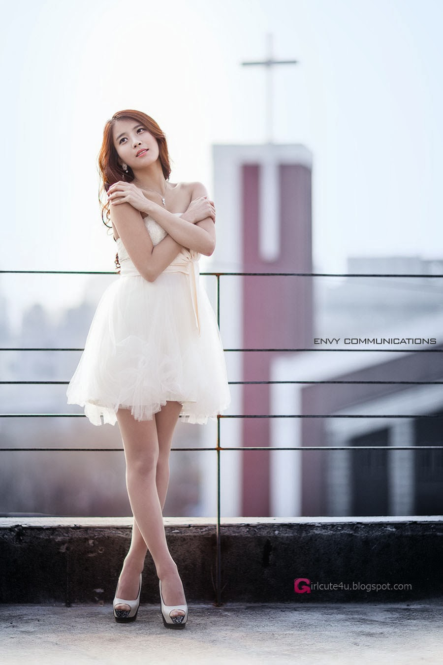2 Cha Jung Ah - Up On The Roof - very cute asian girl-girlcute4u.blogspot.com