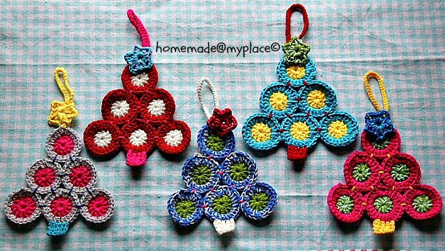 homemade myplace make it christmas tree decorations