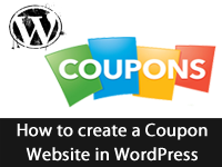 Create Coupon Websites in WordPress