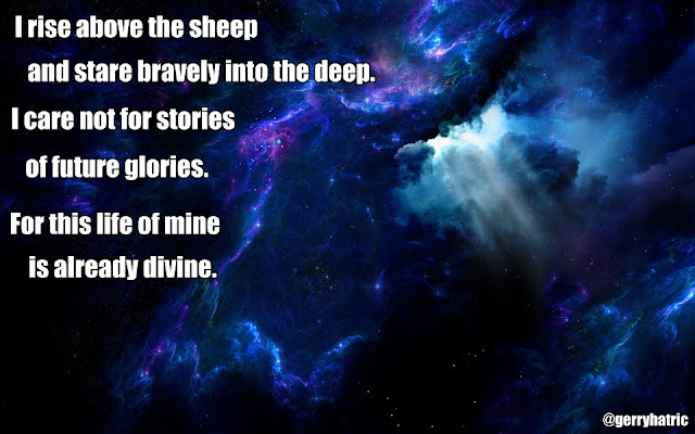 I rise above the sheep poem