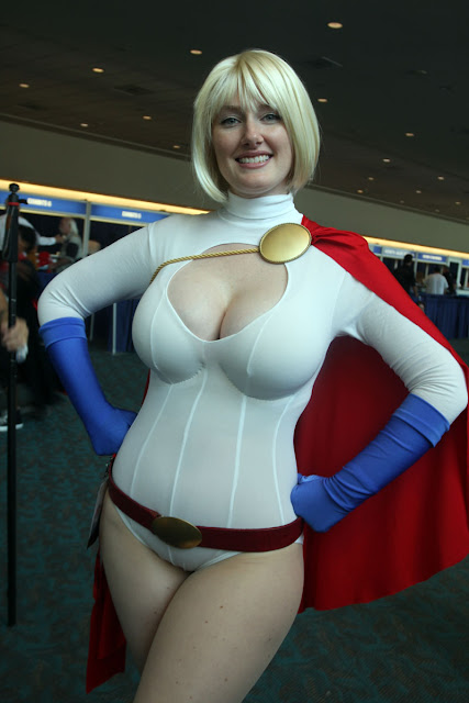 power girl cosplay sexy