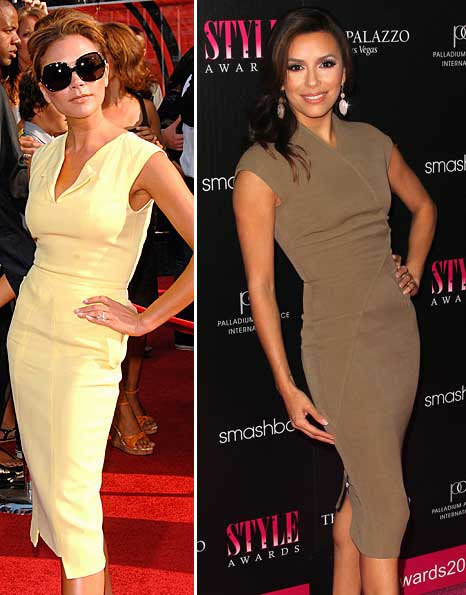 1x1.trans Who wore it better: Victoria Beckham or Eva Longoria in Victoria Beckham?