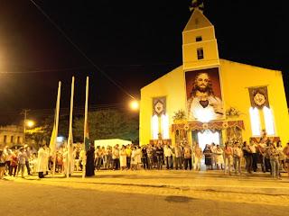 Missa de Abertura do novenário em preparação para festa do SCJ 2012