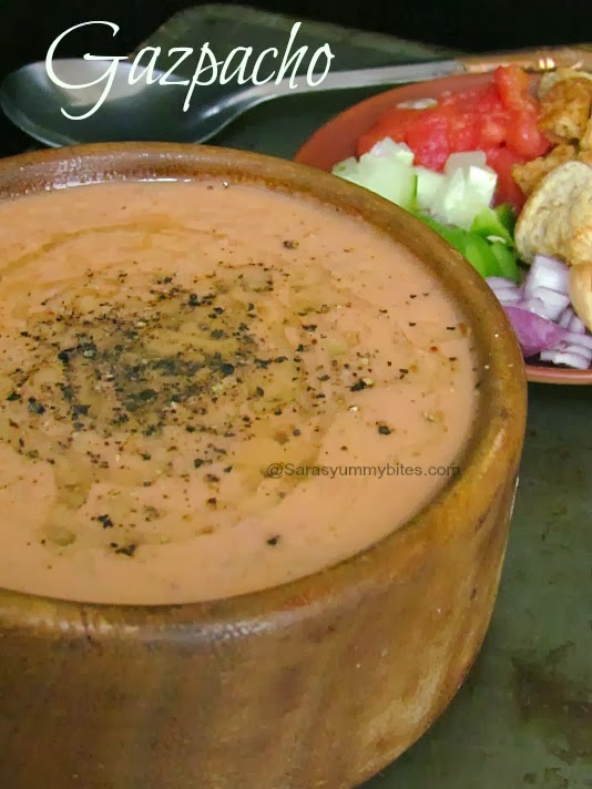 andalucian gazpacho