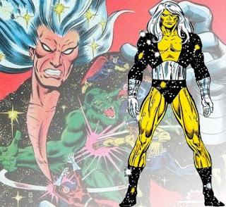 Dibujo de Nebulon-Marvel