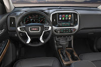 GMC Canyon Denali Crew Cab (2017) Dashboard
