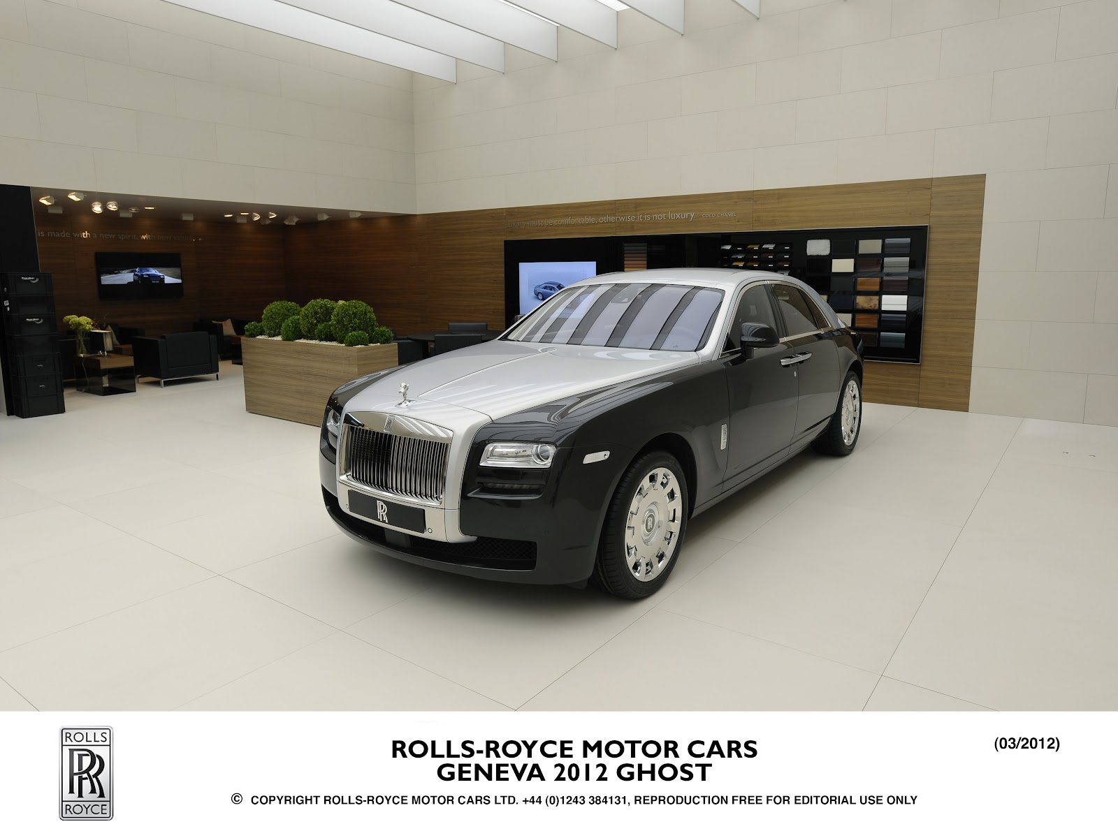 0 To 62mph Official 2012 Rolls Royce Bi Color At The