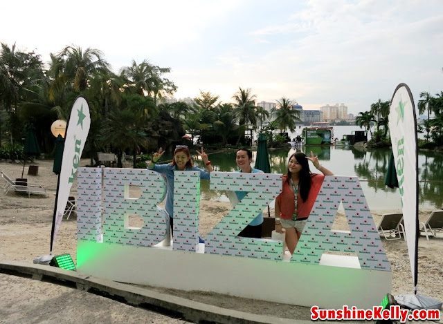 Heineken Ibiza Final Entrance