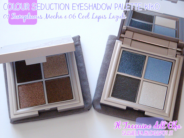 Colour seduction eyeshadow palette lavish oriental 01 e 06 for Oriental colour palette