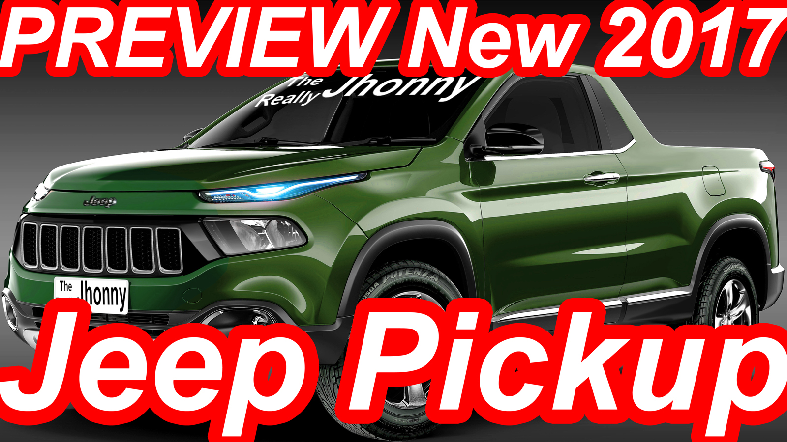 Jeep Cherokee New PRÉVIA Nova Jeep Pickup 2017 @ Fiat Toro | CARWP