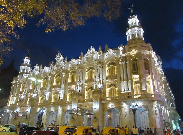 El Gran Teatro Alicia Alonso de La Habana, Cuba.