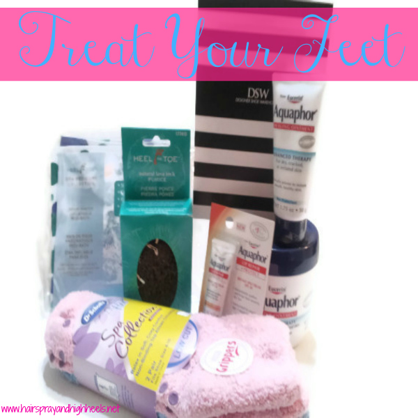 Treat Your Feet with Aquaphor