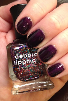 Deborah Lippmann, Deborah Lippmann Let's Go Crazy, manicure, mani monday, #manimonday, nails, nail polish, nail lacquer, nail varnish, Birchbox