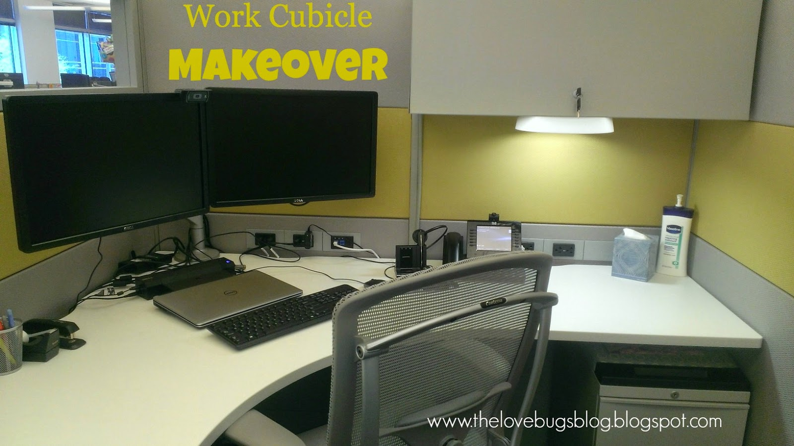 header lovebugs work decor the blog cubicle makeover cube