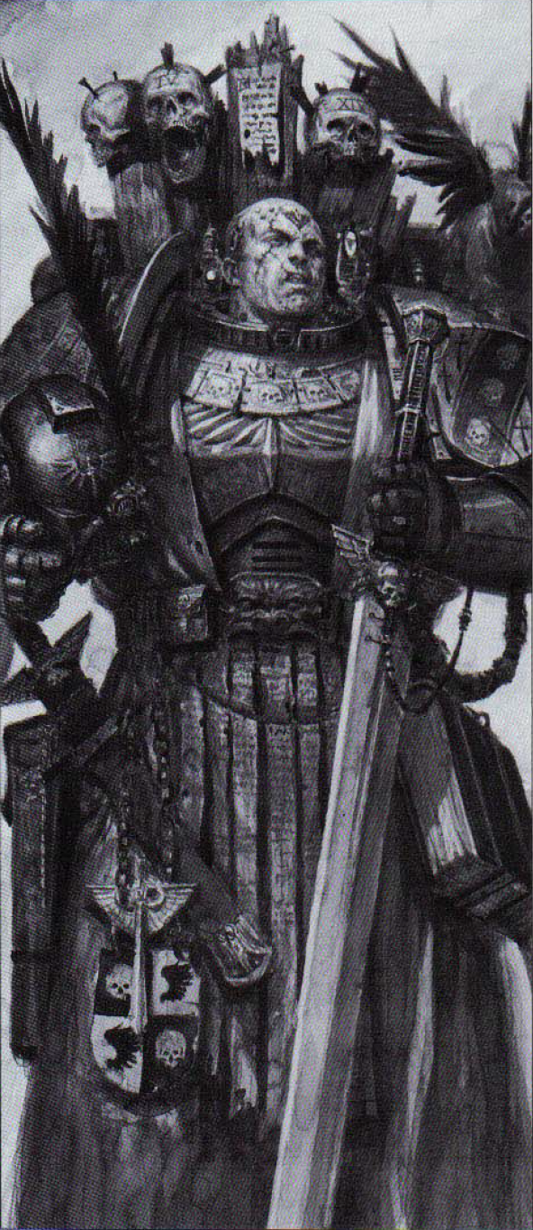 Azrael,Supreme Grand Master of the Dark Angels by kadiel1 on ...