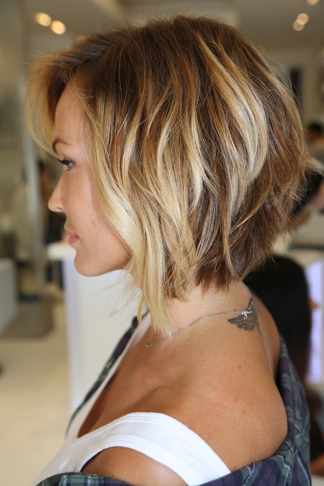Irena Miami Summer Flirty Bob Cut
