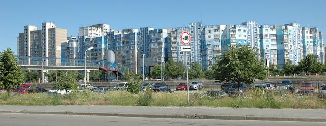 массив Троещина в Киеве