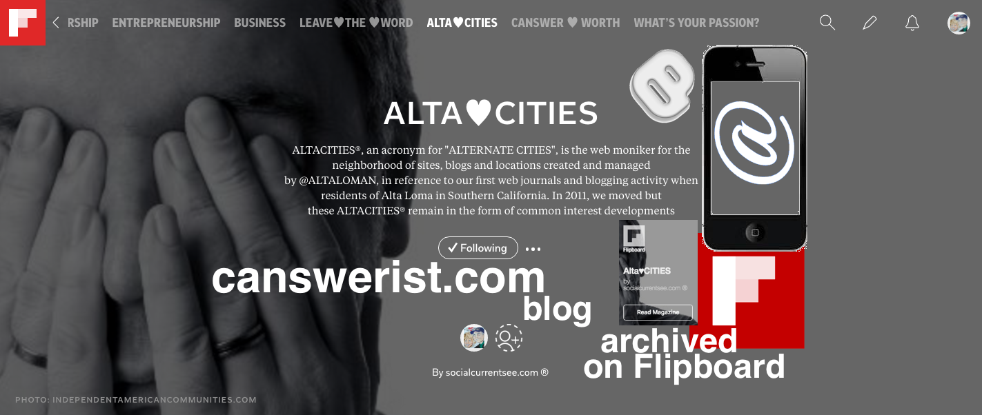 altacities.com® <br> ▶ Alta♥Connect Blog