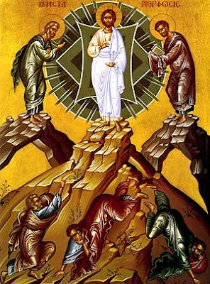 TRANSFIGURATION, Metamorphosis, of our Savior, Jesus Christ