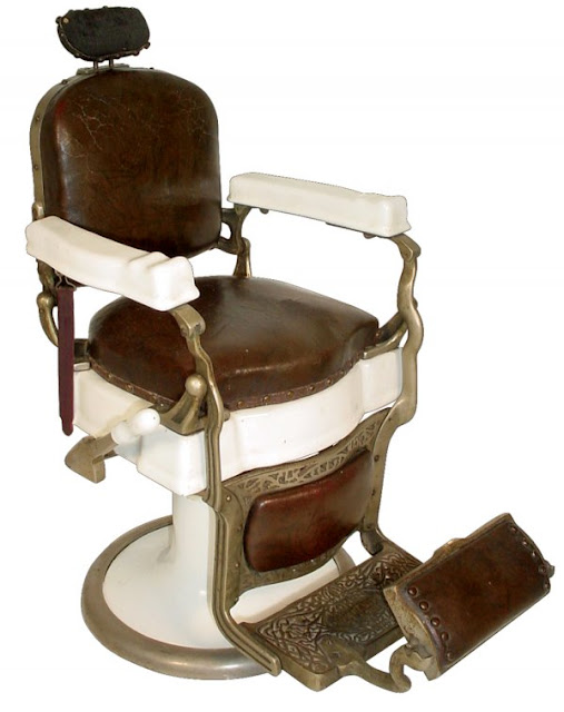 Antique Barber Chair2