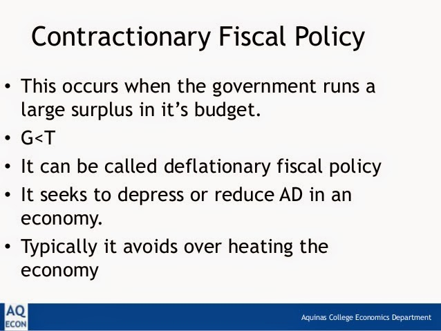What is a nondiscretionary fiscal policy?