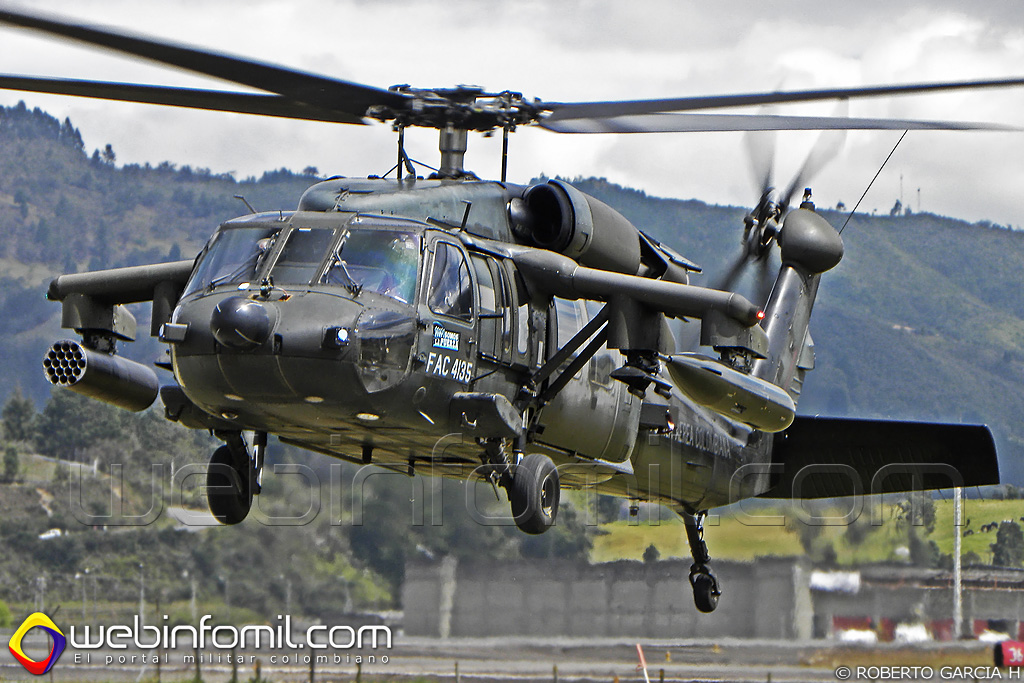 FAC4135 Black Hawk Colombia Arpía II