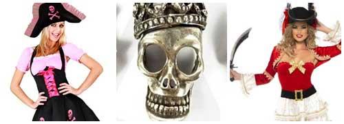 Ideas para un disfraz de pirata casero collage