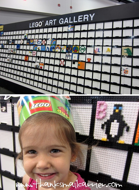 LEGO Art Gallery