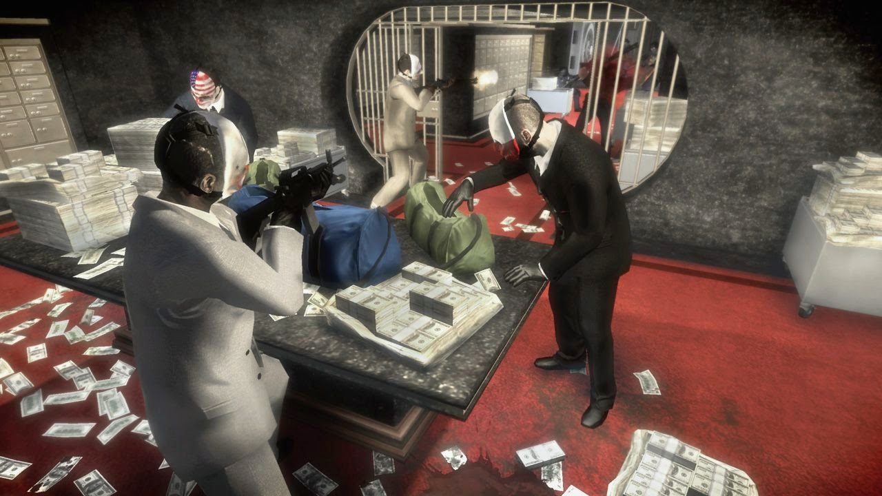 download payday the heist,payday the heist gameplay,payday the heist characters,masks,trailors,wolf