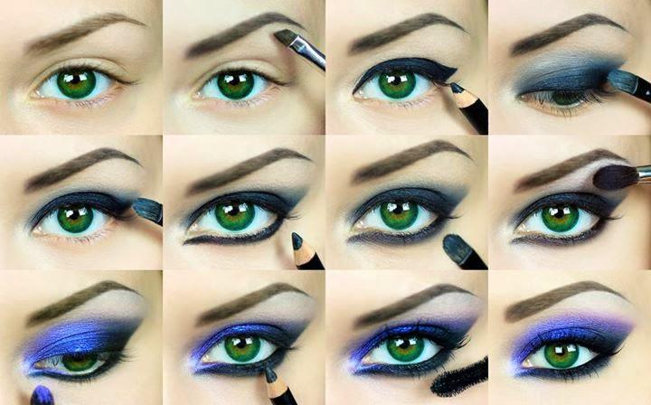 Ladies Eye Makeup Tutorials