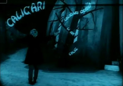 Scene from The Cabinet of Dr. Caligari