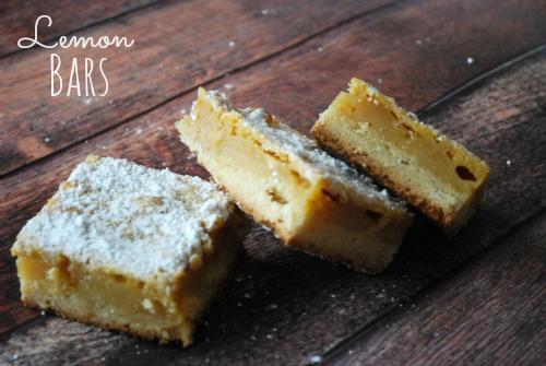 Lemon Bars - The Gingered Whisk