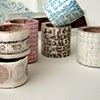 Stamped Washi Tape