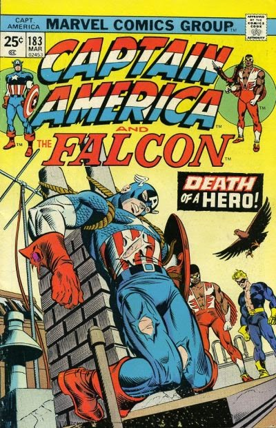 Captain America & the Falcon #183, Death of a Hero