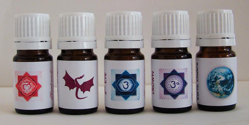 12 Chakras Oils