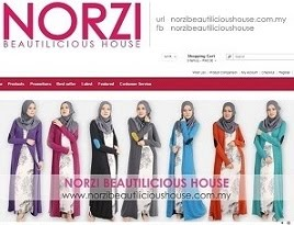 WELCOME TO NORZI BEAUTILICIOUS HOUSE ONLINE STORE