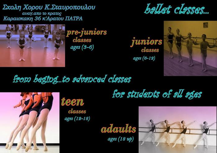 GRADES ballet classes