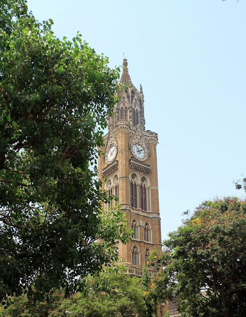 Rajbai Clock Tower, on Fort Campus, University of Mumbai