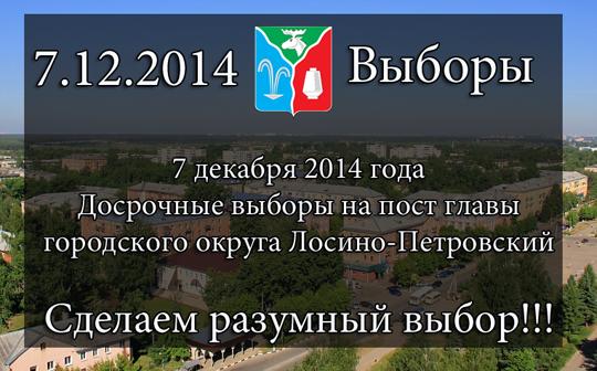 Территориальная избирательная комиссия города Лосино-Петровский