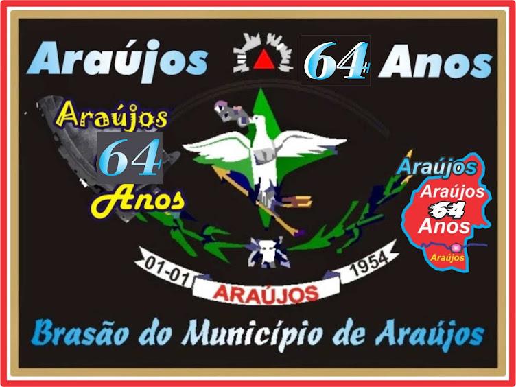 Brasão do Município de Araújos