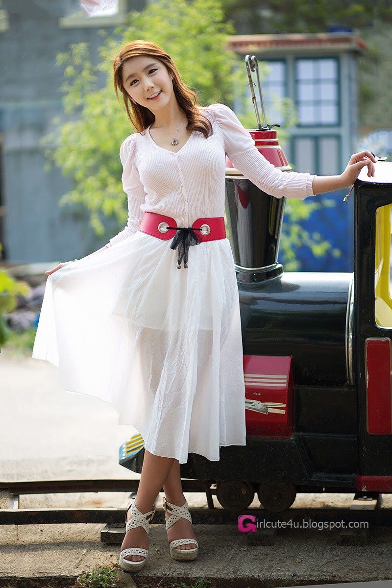 5 Kim Ha Eum - Carny Shoot, Three Outfits- very cute asian girl-girlcute4u.blogspot.com