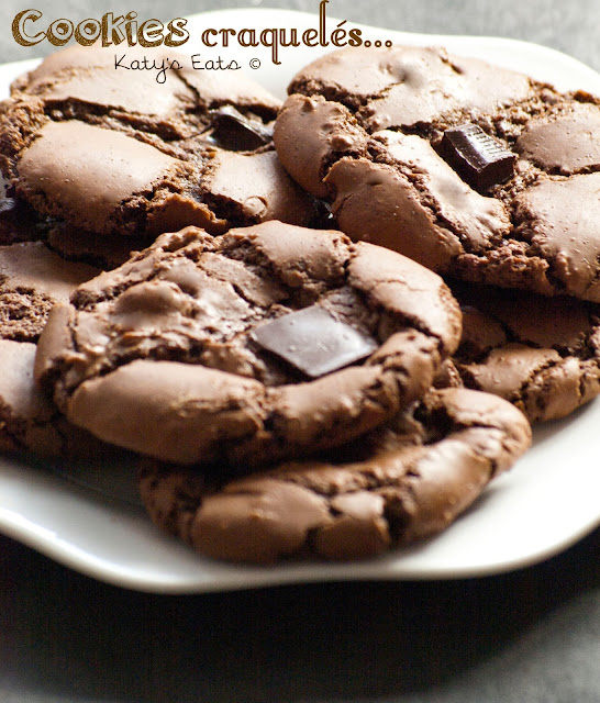 Cookies craquelés, cookies maison, recette cookies